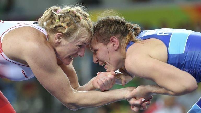 Инна Тражукова (справа). Фото Reuters