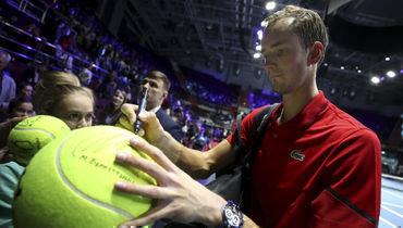 Медведев: «Яеще буду ломать ракетки»