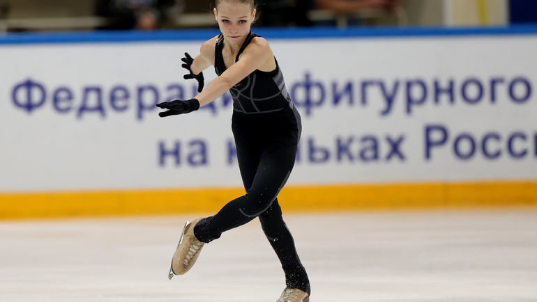 Александра Трусова. Фото Александр Федоров., «СЭ» / Canon EOS-1D X Mark II