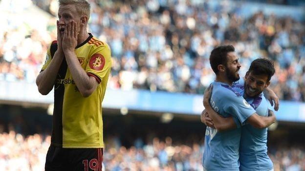 21сентября. Манчестер. «Манчестер Сити»— «Уотфорд»— 8:0. Фото REUTERS
