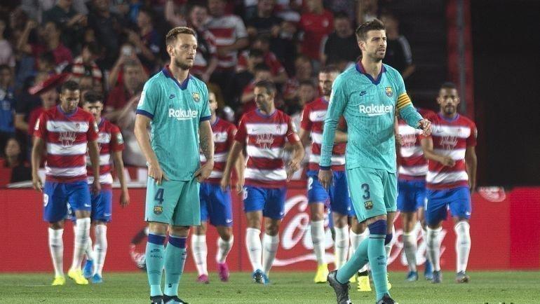 21сентября. Гранада. «Гранада»— «Барселона»— 2:0. Каталонцы потерпели новое неприятное поражение. Фото LaLiga
