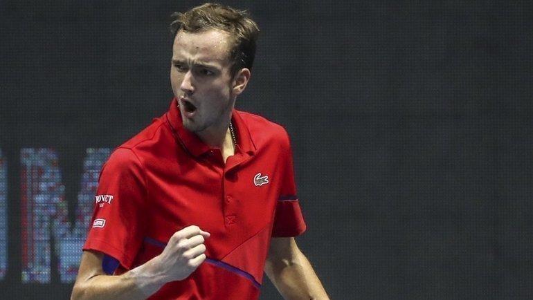 Даниил Медведев выиграл турнир вСанкт-Петербурге. Фото spbopen