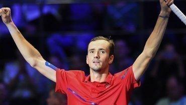 22сентября. Санкт-Петербург. Даниил Медведев выиграл St. Petersburg Open.