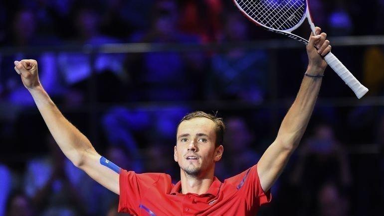 22сентября. Санкт-Петербург. Даниил Медведев выиграл St. Petersburg Open. Фото AFP