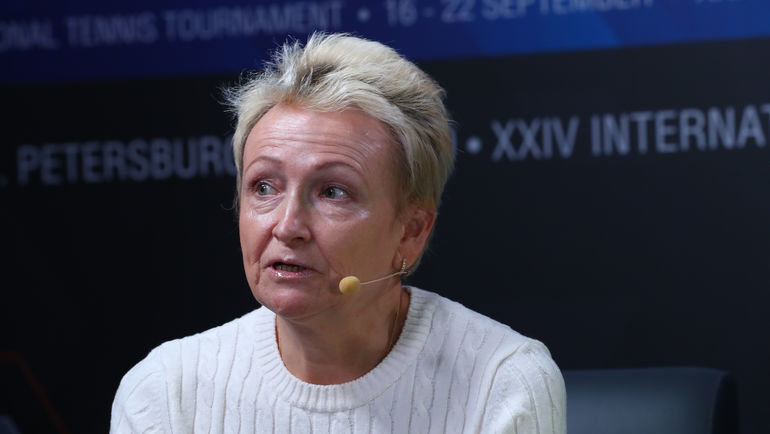 Мама Даниила Медведева Ольга. Фото FormulaTX