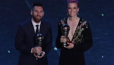 Лучшие футболист ифутболистка года ФИФА.