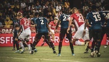 24сентября. Монако. «Монако»— «Ницца»— 3:1. Александр Головин (вцентре) открыл счет эффектным ударом слевой ноги.
