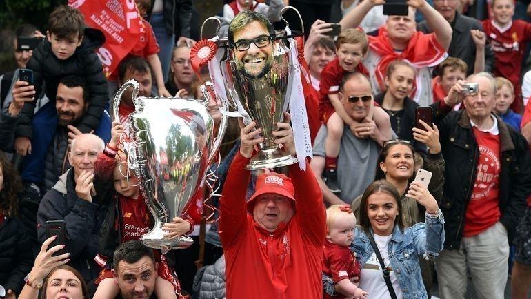 Юрген Клопп— герой ливерпульских фанатов. Фото AFP