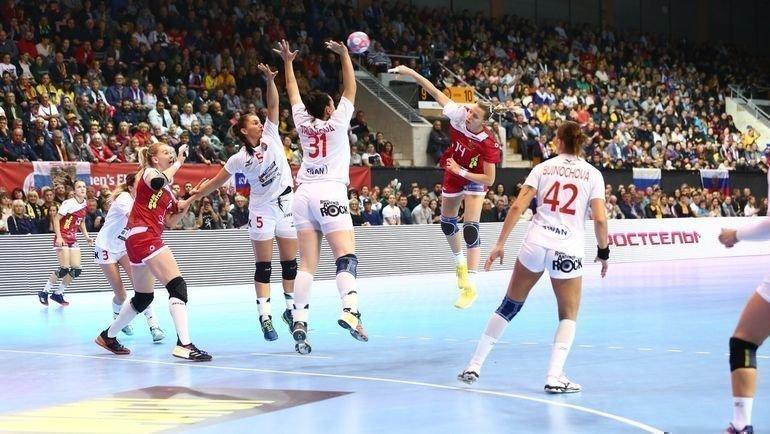 Российские гандболистки начали отборочный цикл чемпионата Европы— 2020, разгромив Словакию— 34:15. Фото Федерация гандбола России