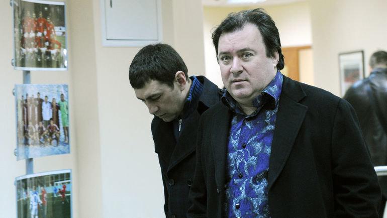 Алексей Сафонов (справа). Фото Федор Успенский, «СЭ»