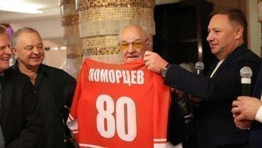 Альберт Поморцев отметил 80-летний юбилей.