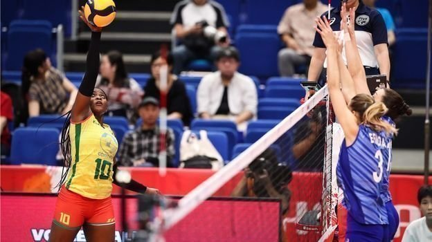 Россия - Камерун - 3:0. Фото FIVB