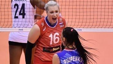 27сентября. Осака. Россия— США— 2:3. Россиянки потеряли шансы выиграть Кубок мира.