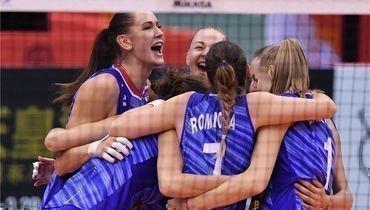 29сентября. Осака. Россия— Бразилия— 1:3. Россиянки уступили бразильянкам, нозавоевали бронзовые медали наКубке мира вЯпонии.