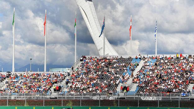 29сентября. Сочи. Олимпийский факел. Фото AFP