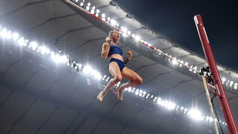 29сентября. Доха. Анжелика Сидорова— золото! Фото AFP