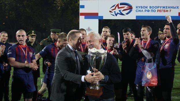 В Москве состоялся розыгрыш Кубка Вооруженных сил РФ по регби-7.