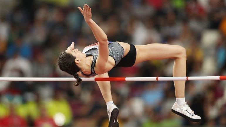 Мария Ласицкене— трехкратная чемпионка мира попрыжкам ввысоту. Фото IAAF
