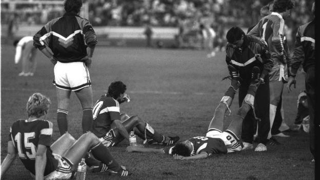 1октября 1988 года. Сеул. СССР— Бразилия— 2:1. Фото Игорь Уткин