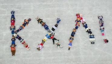 Талисманы клубов КХЛ сложили назвали лиги.