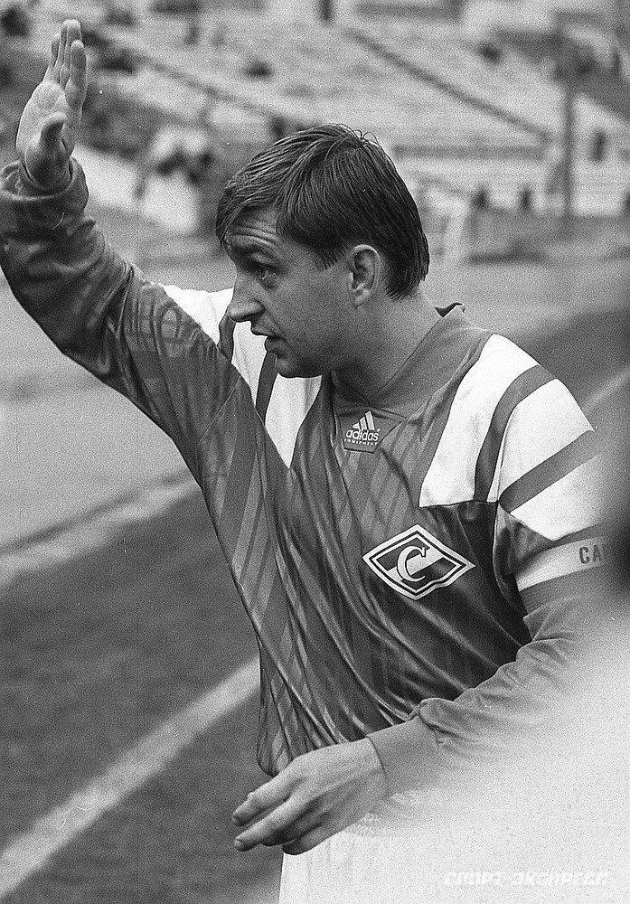 1994 год. Федор Черенков— капитан «Спартака».