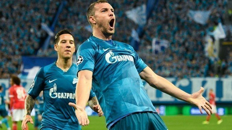 Футбол лига европы зенит байер