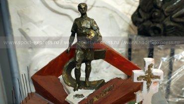Макет памятника Федору Черенкову работы скульптора Натальи Опиок.