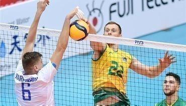 4октября. Нагано. Россия— Австралия— 2:3. Россияне потерпели первое вистории поражение отавстралийцев.