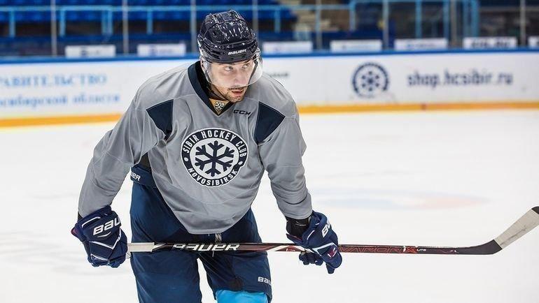 Самвел Мнацян. Фото ХК «Сибирь»