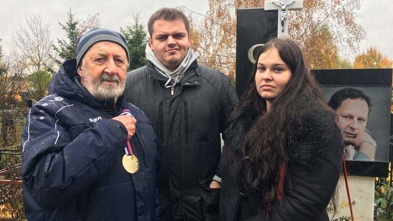 Родственники Константина Сарсании.