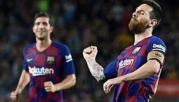 Месси забил за «Барсу» впервые смая, каталонцы разгромили «Севилью»