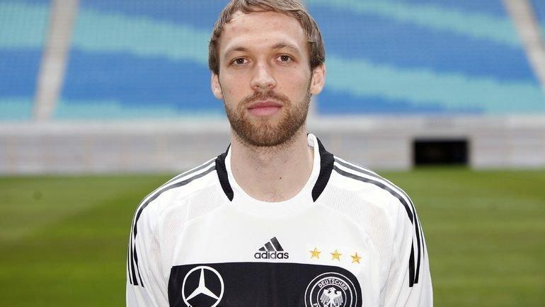 Андреас Хинкель в2009 году всоставе сборной Германии. Фото Reuters