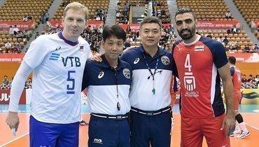 Сергей Гранкин (слева). Фото https://www.instagram.com/volleyballvfv/