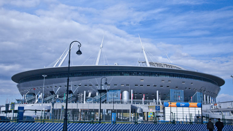 Стадион «Санкт-Петербург». Фото ФК «Зенит»