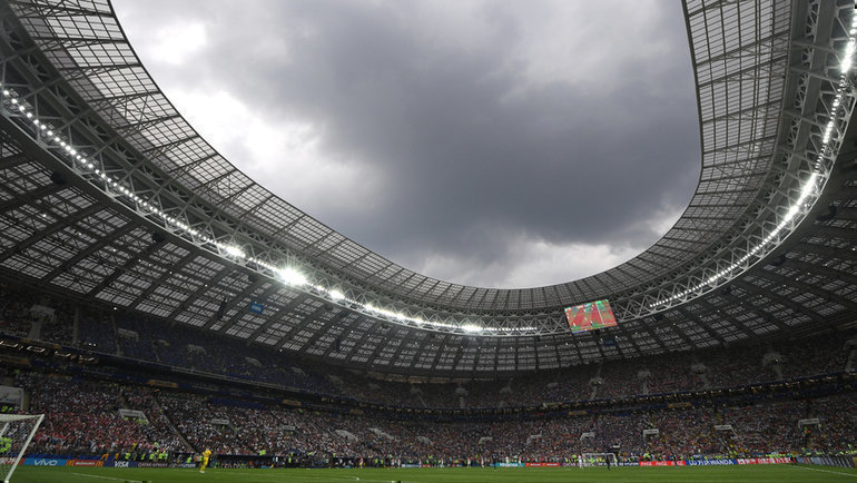Стадион «Лужники». Фото Александр Федоров, «СЭ» / Canon EOS-1D X Mark II