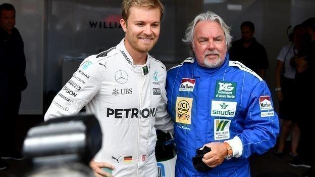 Нико и Кеке Росберги. Фото AFP