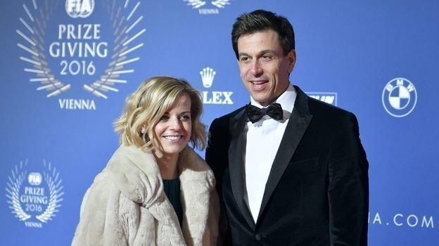 Сьюзи и Тото Вольфф. Фото AFP