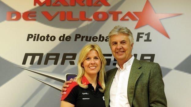 Мария и Эмилио де Вильота. Фото AFP