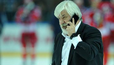 Геннадий Величкин после победы «Магнитки» вКубке Гагарина-2016.