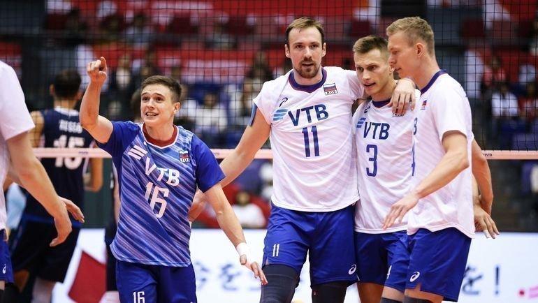 11октября. Хиросима. Россия— Италия— 3:1. Российские волейболисты одержали волевую победу. Фото FIVB