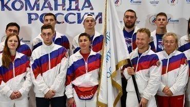 Проводы олимпийской команды России наIВсемирные пляжные игры АНОК.