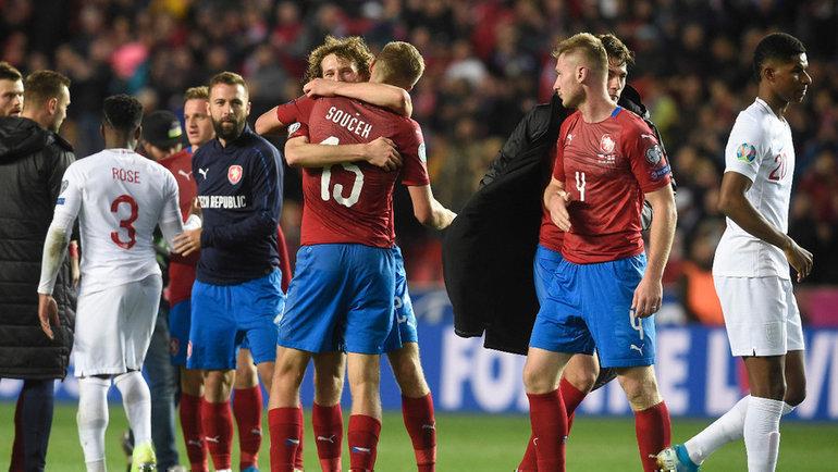 Чехия — Англия — 2:1, чемпионат Европы, Евро-2020, отборочный турнир,  группа А, англичане в восторге от спартаковца Крала. Спорт-Экспресс