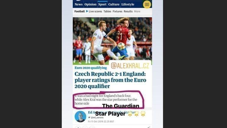 Реакция Алекса Крала настатью The Guardian.