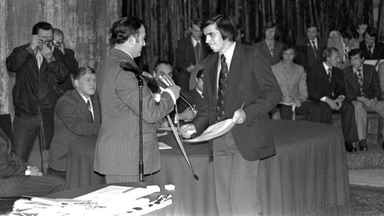 1976 год. Никита Симонян иАлексей Петрушин. Фото Сергей Колганов