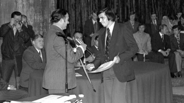 1976 год. Никита СИмонян и Алексей Петрушин. Фото Сергей Колганов