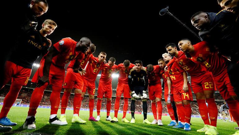 Бельгия— первый участник Евро-2020. Фото Reuters