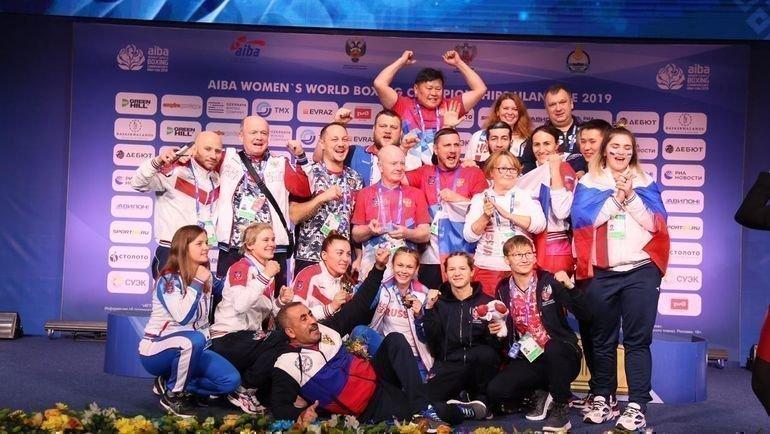 Женская сборная перевыполнила медальный план наЧМ побоксу. Фото Федерация бокса России.