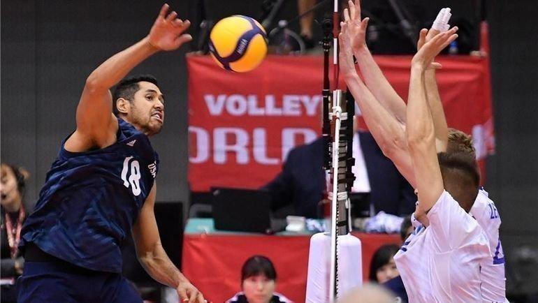 Сборная России потерпела шестое поражение наКубке мира. Фото Volleyball World