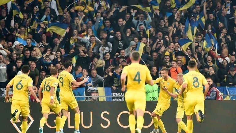 Украина— пятый участник финального турнира Евро-2020. Фото AFP