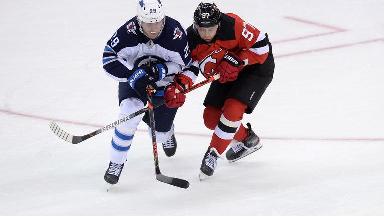 Никита Гусев (справа). Фото USA Today Sports
